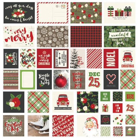 Simple Stories - Sn@p! Card Pack Very Merry, 48 osaa
