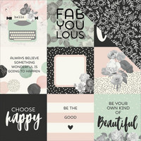 Simple Sories - Beautiful Double-Sided Elements Cardstock 12