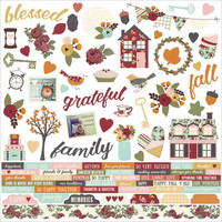 Simple Stories - Vintage Blessings Cardstock Stickers 12