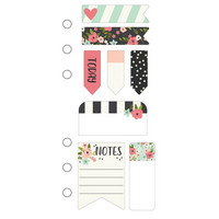 Simple Stories - Carpe Diem Bloom Mini Sticky Notes, Tarralaput