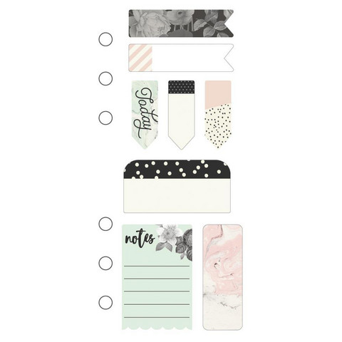 Simple Stories - Carpe Diem Beautiful Mini Sticky Notes, Tarralaput