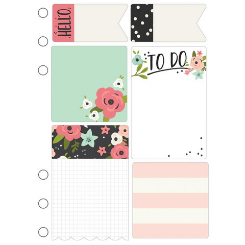 Simple Stories - Carpe Diem Bloom Sticky Notes, Tarralaput