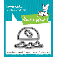 Lawn Fawn - Stanssisetti, Happy Summer