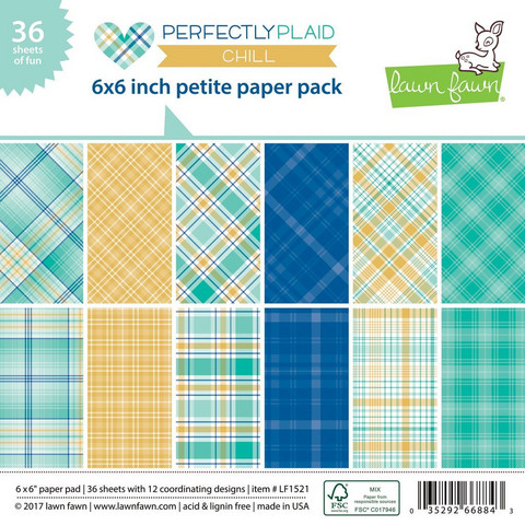 Lawn Fawn - Perfectly Plaid Chill 6