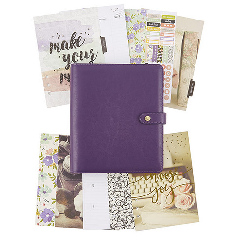 Simple Stories - Carpe Diem Grape Boxed Set A5 Planner, Bliss