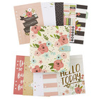 Simple Stories - Carpe Diem Cream Blossom Boxed Set A5 Planner, Bloom