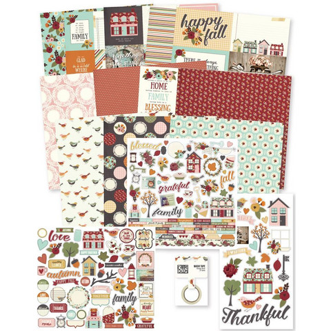 Simple Stories - Vintage Blessings Simple Stories Collector's Essential Kit, 12