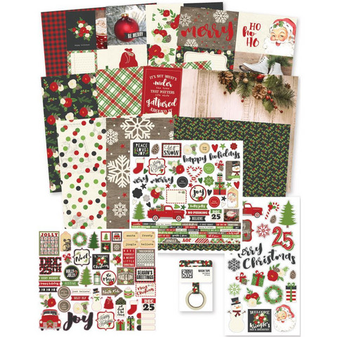 Simple Stories - Very Merry Simple Stories Collector's Essential Kit, 12