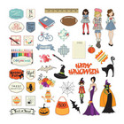 Prima Marketing - Julie Nutting Ephemera Cardstock Die-Cuts, September & October