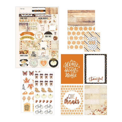 Prima Marketing - My Prima Planner Goodie Pack, Amber Moon