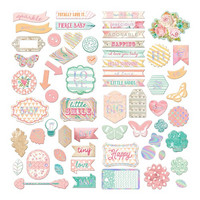 Prima Marketing - Heaven Sent 2 Self-Adhesive Chipboard