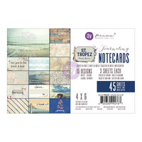 Prima Marketing - St. Tropez Journaling Notecards, 4