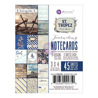 Prima Marketing - St. Tropez Journaling Notecards, 3