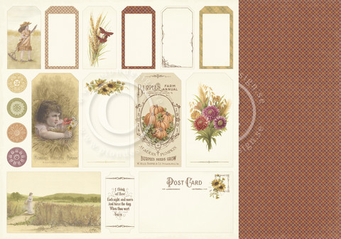 Pion Design - Summer Falls into Autumn - Tags