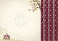 Pion Design - Summer Falls into Autumn - Plum garden