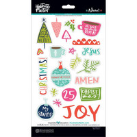 Illustrated Faith - Advent Chipboard Stickers, Icons