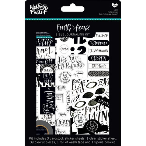 Illustrated Faith - Faith>Fear Bible Journaling Kit