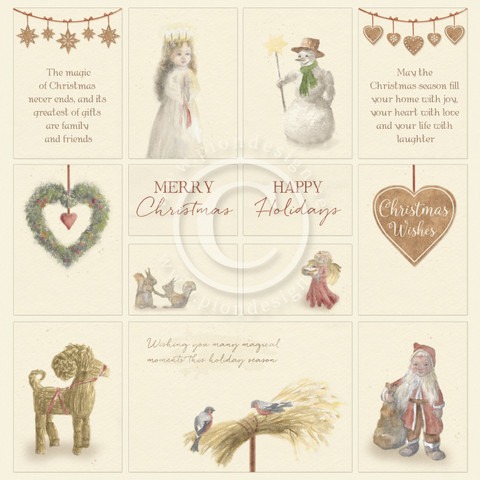 Pion Design - Christmas Wishes - Images from the Past