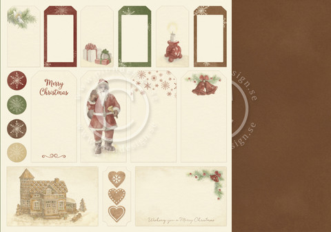 Pion Design - Christmas Wishes - Tags