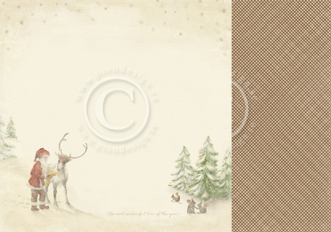 Pion Design - Christmas Wishes - Santa's Friend