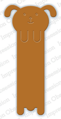 Impression Obsession - Dog Bookmark, Stanssi