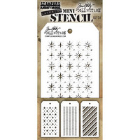 Tim Holtz - Mini Layered Stencil, Set #31
