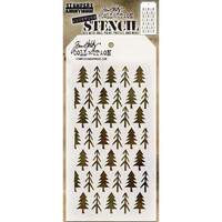 Tim Holtz - Layered Stencil, Pines