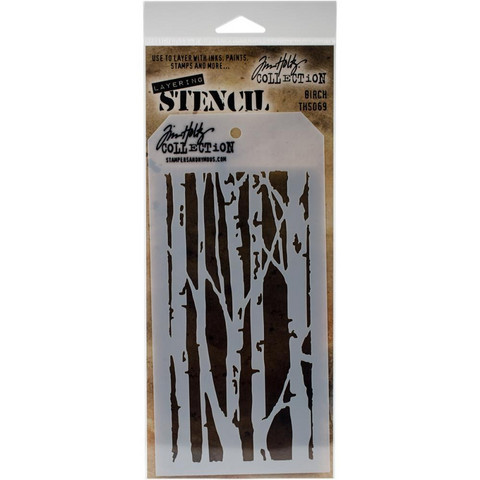 Tim Holtz - Layered Stencil, Birch