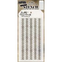 Tim Holtz - Layered Stencil, Tinsel