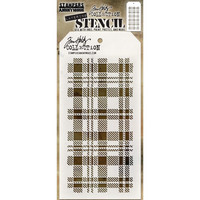 Tim Holtz - Layered Stencil, Plaid