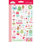 Doodlebug - Milk & Cookies Mini Cardstock Stickers, 2 arkkia