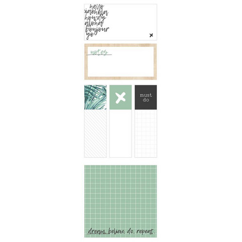 Kaisercraft - Oasis, Kaiser Style Adhesive Note Pads