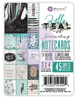 Prima Marketing - Zella Teal - 3x4 Journaling Cards, 3