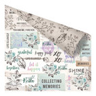 Prima Marketing - Zella Teal Paper, Collect Memories, 12