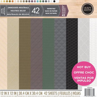 Craft Smith - Embossed Neutrals 12