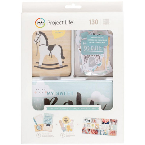 Project Life - Little You Boy Value Pack, 130 osaa