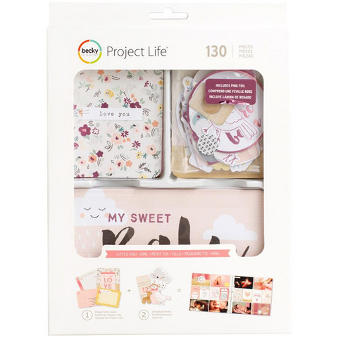 Project Life - Little You Girl Value Pack, 130 osaa