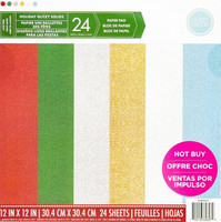 Craft Smith - Holiday Glitzy Solids 12