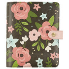 Simple Stories - Carpe Diem Personal Planner, Black Blossom