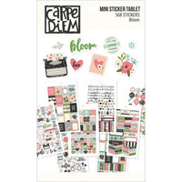 Carpe Diem - Bloom Mini Stickers, 568 tarraa