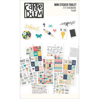 Carpe Diem - Faith Mini Stickers, 777 tarraa