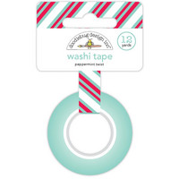 Doodlebug - Peppermint Twist Washi Tape, 15mmX11m