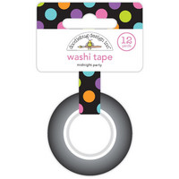 Doodlebug - Midnight Party Washi Tape, 15mmX11m