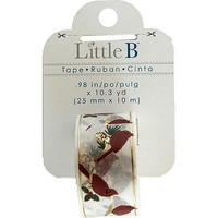 Little B - Cardinals Foil Decorative Tape, 25mmx10m