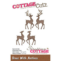Cottage Cutz - Deer With Antlers, Stanssi