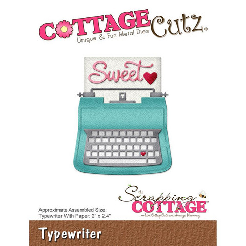 Cottage Cutz - Typewriter, Stanssi