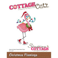 Cottage Cutz - Christmas Flamingo, Stanssi