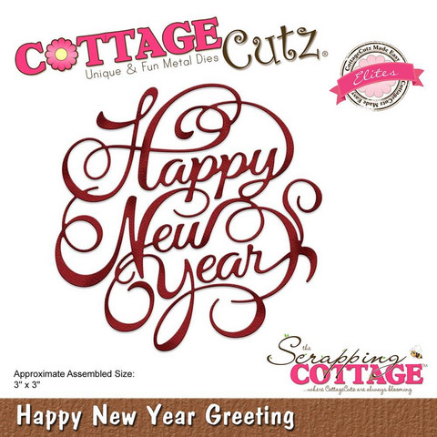 Cottage Cutz - New Year Greeting, Stanssi