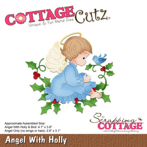 Cottage Cutz - Angel With Holly, Stanssi