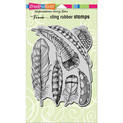 Stampendous - Feathers, Leima